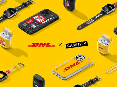 CASETiFY x DHL Collab Sells Out Immediately