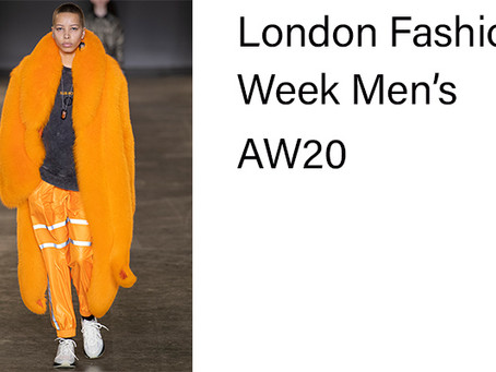 The collections you need to know about at LFW: Men's AW20