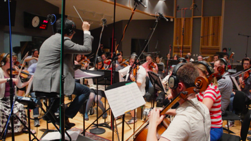 Recording Session with East Coast Scoring