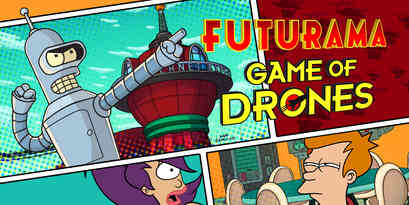 Futurama: Game of Drones, by Wooga and Fox Digital Entertainment