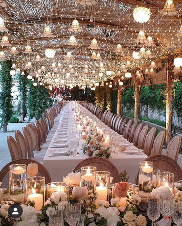 wedding table star