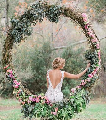 wedding balançoire