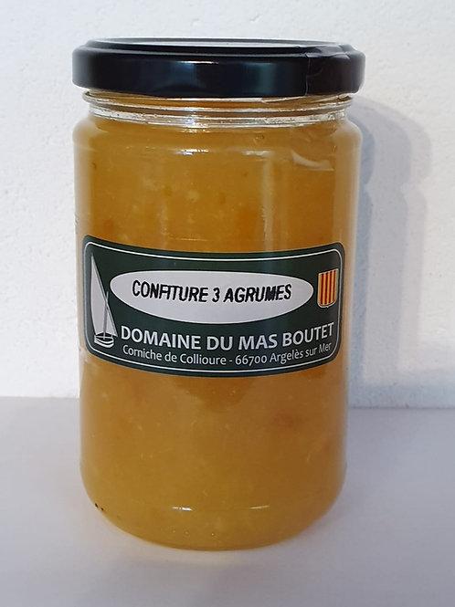 Confiture 3 agrumes