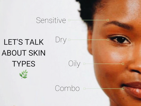 🌿Knowing The Different Skin Types.