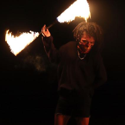 Mayan Fire Performance