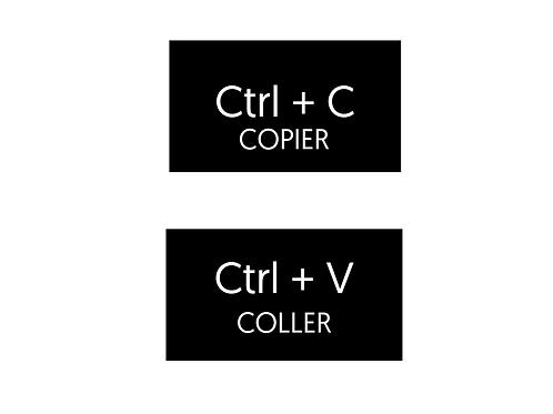 CTRL + C homme