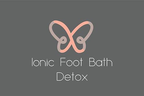 Ionic Foot Bath Detox 30 Minutes