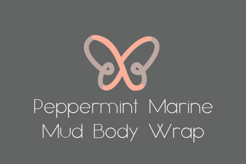 Peppermint Marine Mud Body Wrap - Stimulating and Toning