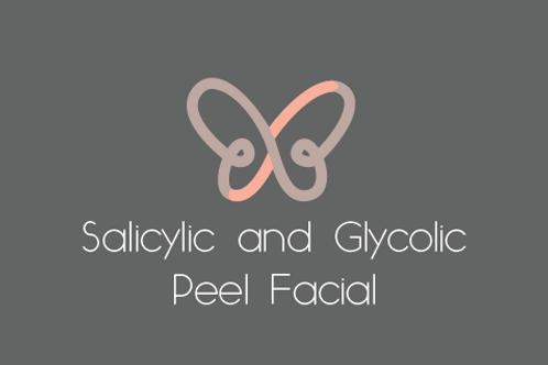 Salicylic and Glycolic Peel Facial