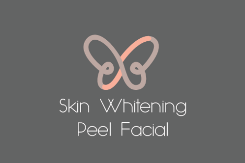 Skin Whitening Peel Facial