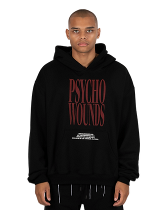 PSYCHO WOUNDS HOODIE