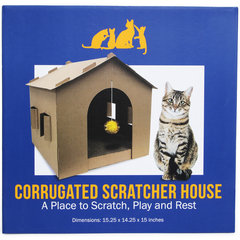 Cardboard Kitty House