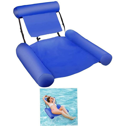 Pool Floating Portable Swimming Inflatable Water Hammock Chair SP