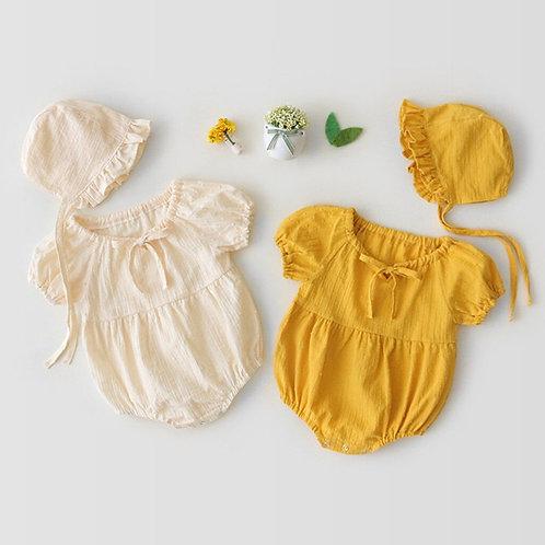 Bohemian Onesie and Bonnet Newborn set