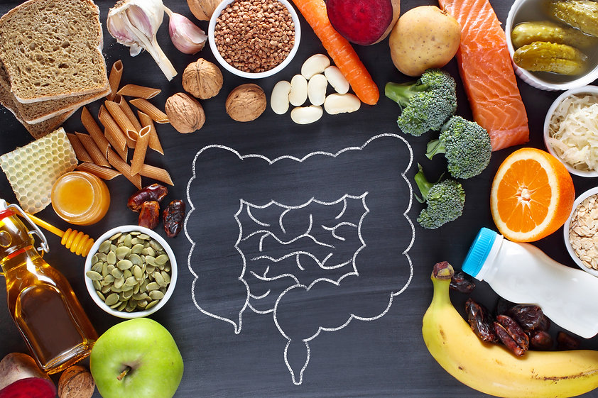 Natural products for healthy bowel. Top view.jpg
