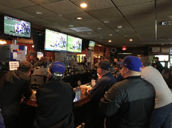 Lots of TVs to watch the game!