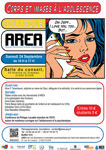 Colloque AREA Samedi 24 Septembre 2016
