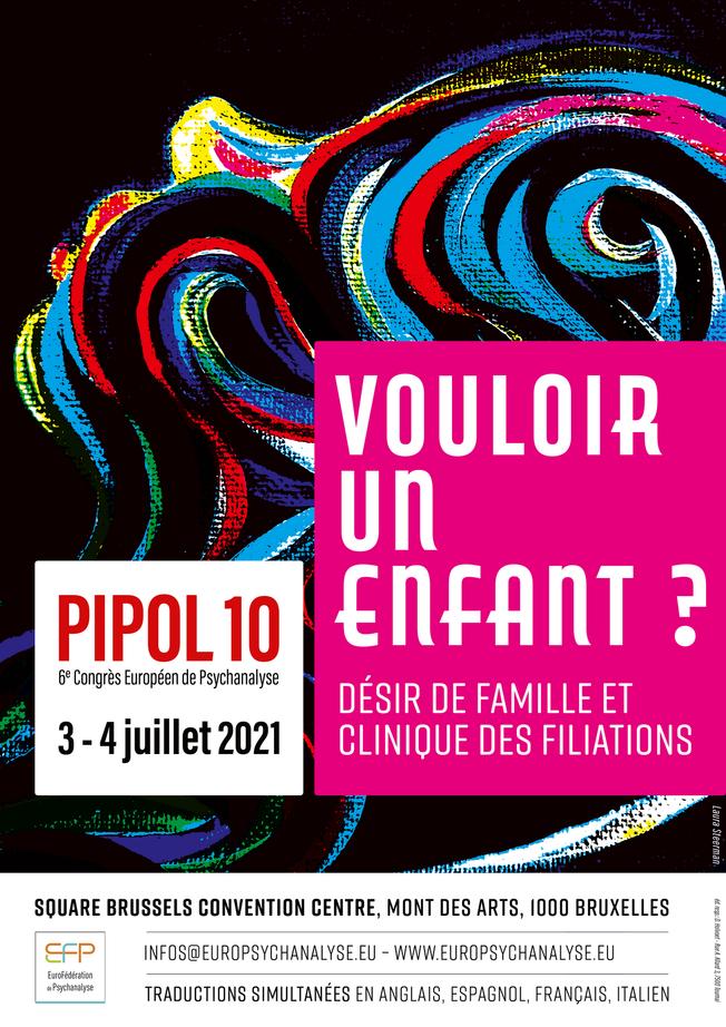 Congrès européen de Psychanalyse - Bruxelles - 3 et 4 juillet 2021