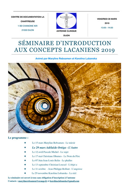 Séminaire d'introduction aux concepts la