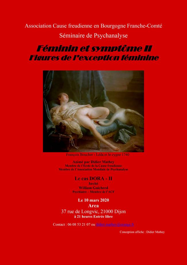 Séminaire de psychanalyse - Féminin et symptôme II