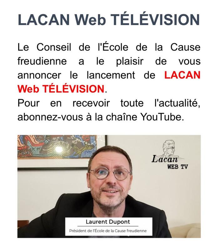 Lacan Web Télévision