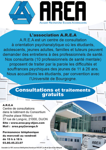 AREA centre de consultation
