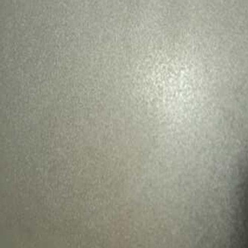 Bead blasted Nickel Silver