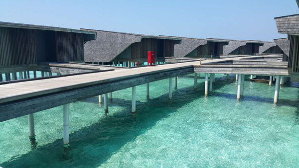 ST. REGIS Resort on Vommuli Island in Maldives