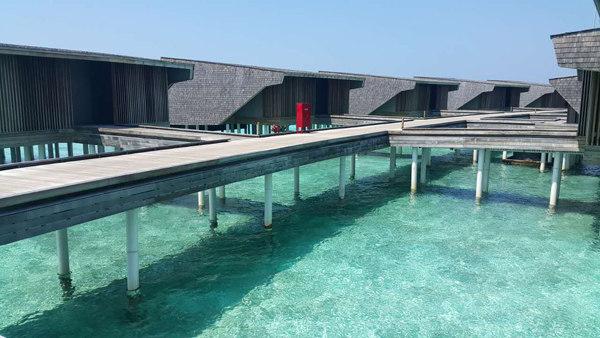ST. REGIS Resort on Vommuli Island in Maldives