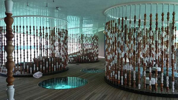 Spa Room on Vommuli Island (Maldives)