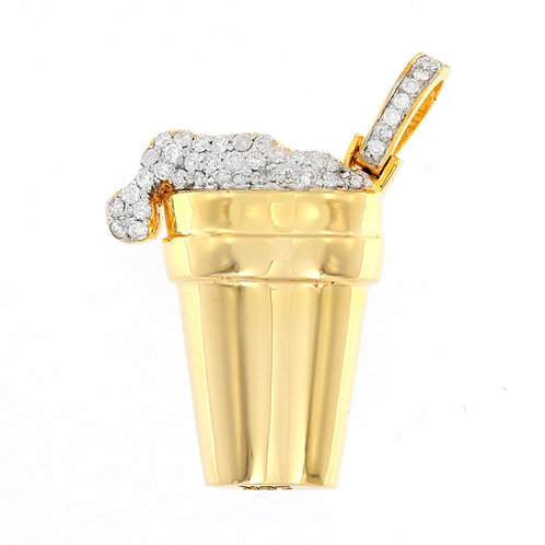 Micro Drip Drank Cup - Choose the color of your stones!! FREE Chain