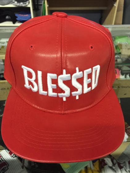 Breadwinner Blessed Hat - Red & White