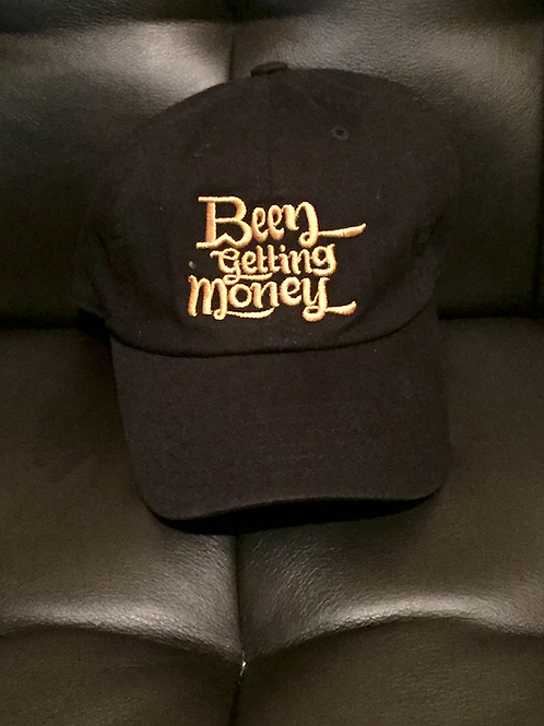 BW Been Getting Money | Black & Gold Dad Hat