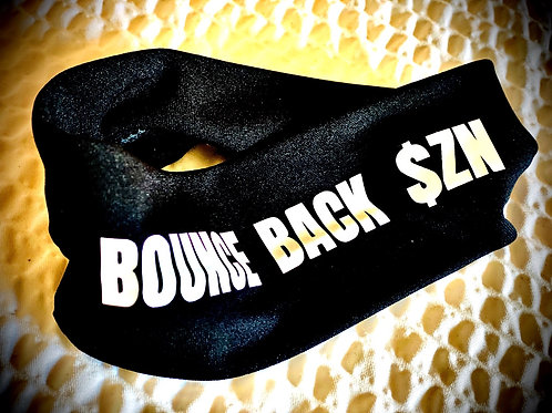 #BounceBack$zn Head & Hat Band (Hat Sold Seperately )
