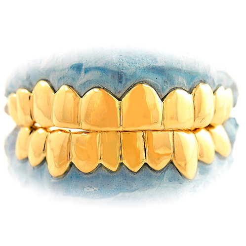Solid Gold Grillz $45.00 Per Tooth ( Selcet the Number of Teeth At Check Out )