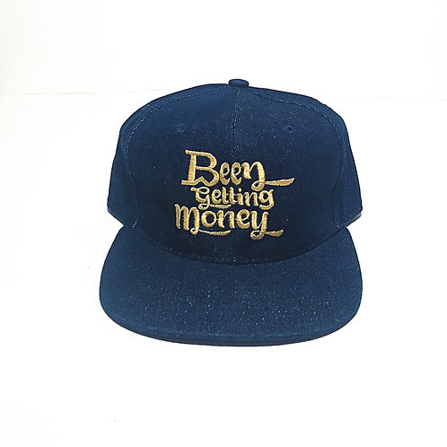 Been Getting Money | Royal Blue Suede Snap Back