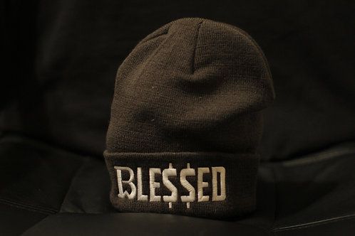 Breadwinner | Blessed | Grey Beanie