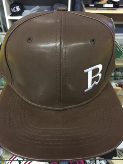 Breadwinner Signature Logo Hat - Brown Leather