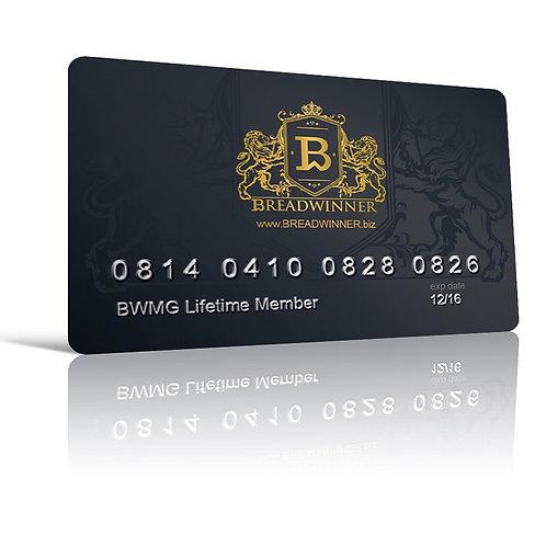 Breadwinner Lifetime Member Access Card