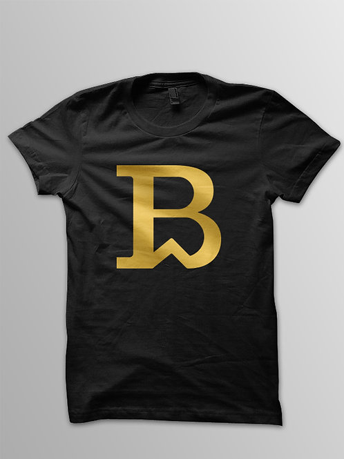 Next Generation Breadwinner Logo Tee BLack & Gold