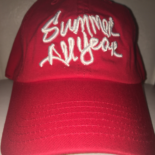 Summer All Year Sport Cap | Red