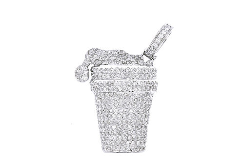 Flooded Micro Drank Double Cup Charm