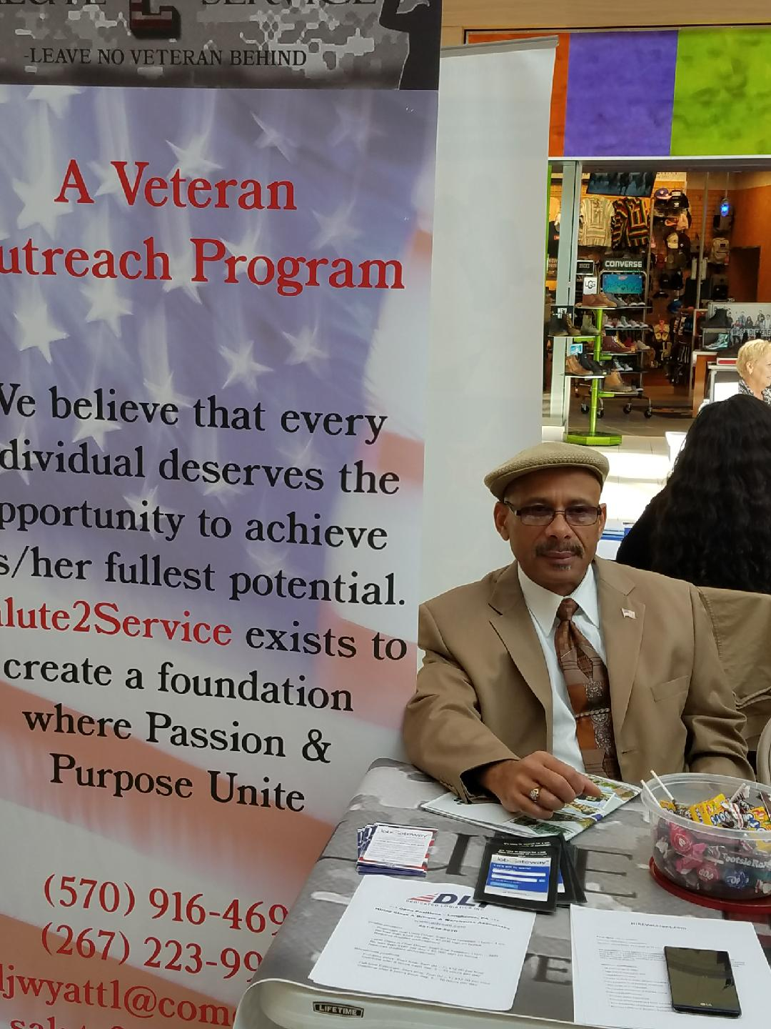 Salute 2 Service unemployed job fair