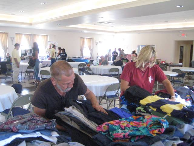 veteran nonprofit clothing drive