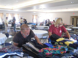 veteran nonprofit clothing drive