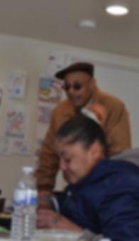 Veteran nonprofit Salute 2 Service Director Rodney Wyatt feeding homeless Bucks County
