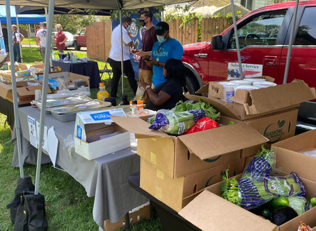 Salute 2 Service Pandemic Relief Event Serves Hundreds