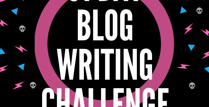 2020 31 Day Blog Challenge - Ready, Set, GO!