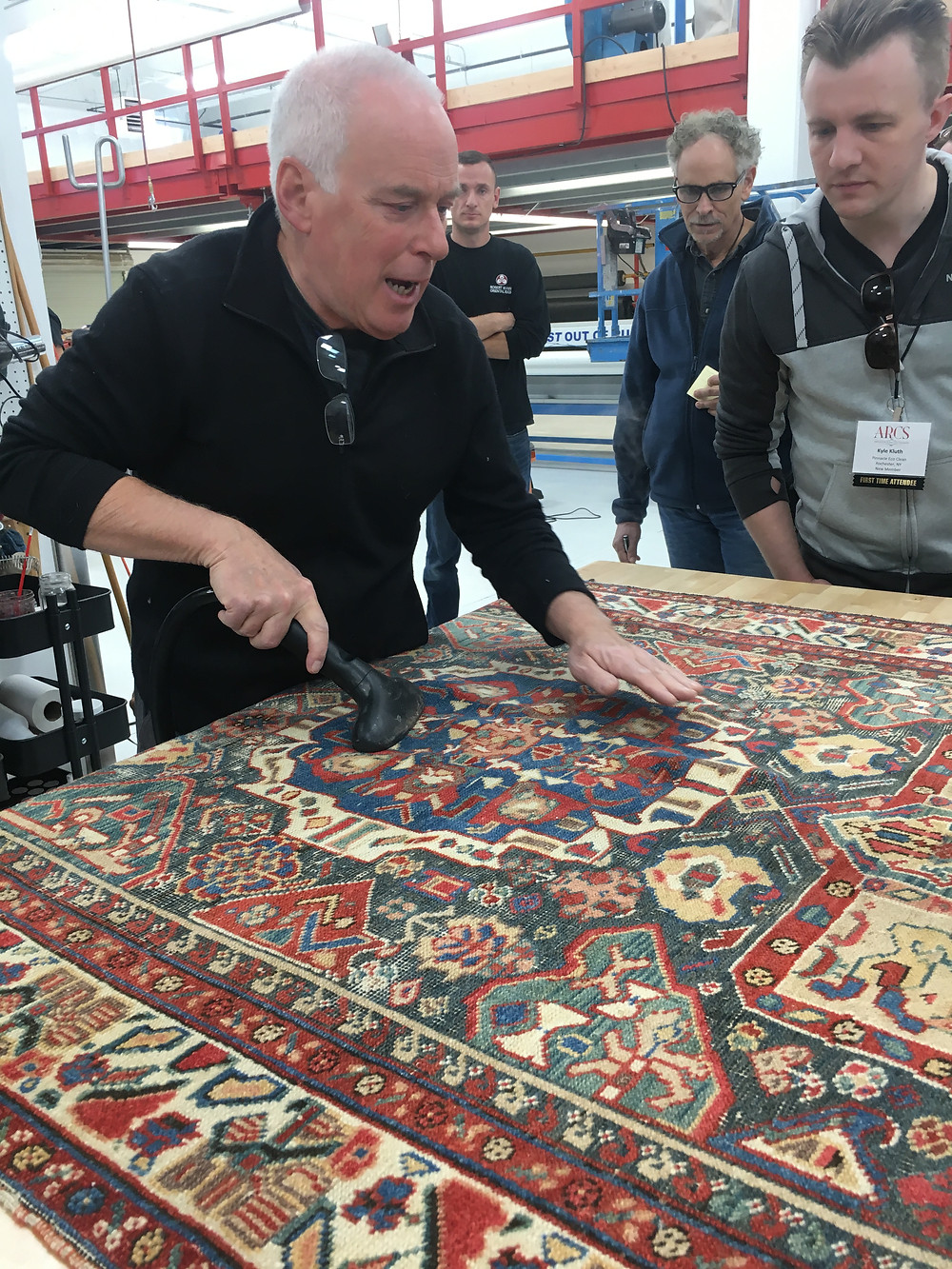 Collector's area rug