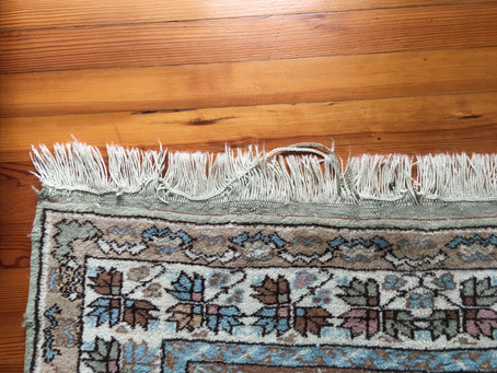 Scary Fringes? How to Keep Area Rug Fringes Clean & Intact
